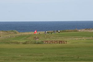 Westray golf course view to the sea